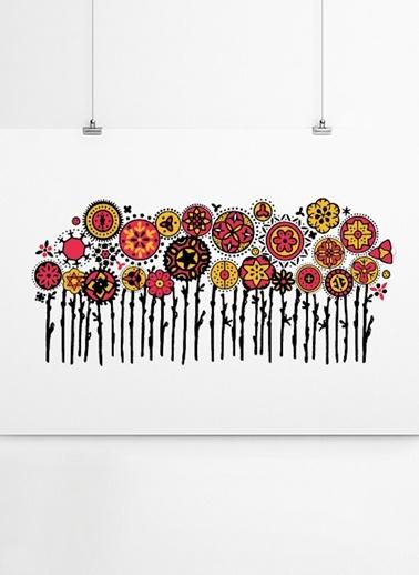 Çiçekler Poster-Fabl